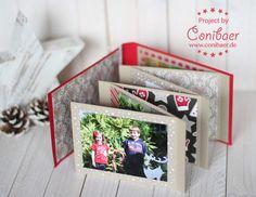 Anleitung für´s Weihnachts-Minialbum - { Conibaers creative desk } Constanzes kreatives Blog