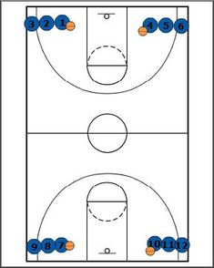 Breakthrough Basketball:4-Line Full Court Shooting & Conditioning