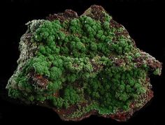 Conichalcite with Calcite                   Mina Ojuela, Mapimi, Durango, Mexico                   10 x 8.5 x 4.5 cm