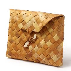 iPad & tablet case made traditionally of soft birch bark. Handwoven in Finland. May vary in colour and pattern due to the natural material. Ipad Tablet, Ipad Case, Basket Weaving, Hand Weaving, Medieval Crafts, Birch Bark, Vikings, Arts And Crafts, Jewelry Making