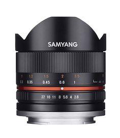 Samyang Fisheye II Lens for Sony E mount Nex Camera - Black in Cameras & Photo, Lenses & Filters, Lenses Canon Lens, Camera Lens, Fisheye Lens, Ultra Wide Angle Lens, Fuji X, Sony E Mount, Prime Lens, Blu Ray, Store