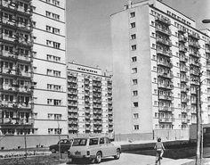 Wieżowce przy ulicy Grabieniec. 1970r.