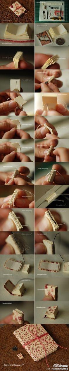 DIY handmade book