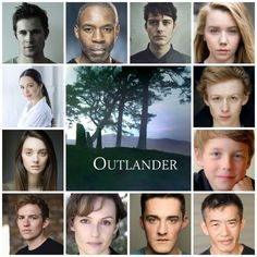 Here they are: All the new #Outlander S3 main Cast Members  So excited for Season 3 We canna wait but we will