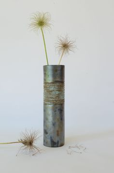 Röhrenvase, 6 cm Durchmesser, 21,5 cm hoch