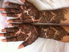 New Arabic Mehndi Designs in 2015 | Fashionip