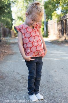 birchfabrics: Free Pattern & Tutorial featuring Eiko by Craftiness Is Not Optional- Reversible kids wrap top