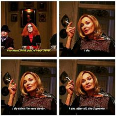 Fiona Goode, The Supreme in AHS Coven | Miss Jessica Lange. Follow rickysturn/american-horror-story