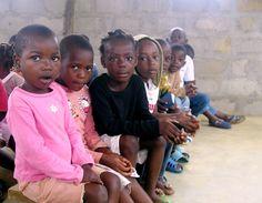 children in Gabon
