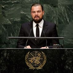 Watch Leonardo DiCaprio's Powerful Speech on Climate Change at the UN