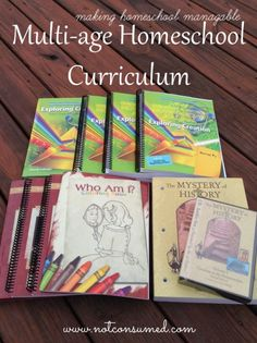 Multi-age homeschool curriculum can be a lifesaver for a mom with multiple children. Come see how this single mom of 4 makes it work!