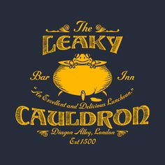 Check out this awesome 'The+Leaky+Cauldron+Bar+%26+Inn' design on @TeePublic! The leaky cauldron harry potter labtop laptop case cover