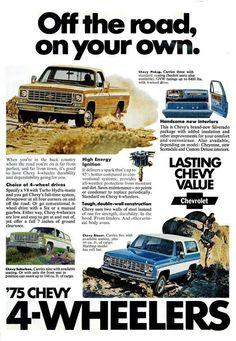 1975 Chevrolet ad.