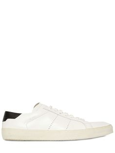 Saint Laurent – Court Classic Leather Sneakers