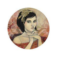 Delphine Cossais Les toiles récentes de Delphine COSSAIs ❤ liked on Polyvore