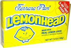 Pennis Enlargement - Love the Lemon Heads.always bought these from a penny candy store - How To Increase Your Penis Size Naturally Without Surgery, Pills, Suction Devices Or Crazy Contraptions! 1980s Candy, Retro Candy, Vintage Candy, Best Candy, Favorite Candy, Sweet Memories, Childhood Memories, Lemonhead Candy, Chocolates