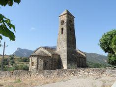 Església de Sant Climent, al Coll de Nargó, L' Alt Urgell.