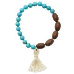 Tutorial - How to: Boho Tassel Bracelet | Beadaholique