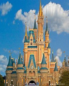 Cinderella's Castle - Disneyworld Florida
