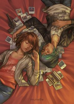 It's done! *_* my Life is Strange fanart (ft. Max & Chloe)Thanks to those who shared my WIP :D