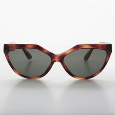 90s Geometric Punk Cat Eye True Vintage Womens Sunglass -PATSY