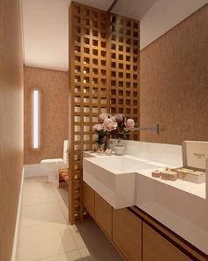Lavabo: Banheiros modernos por SEMARA BRITO - DESIGN PROJETOS E INTERIORES