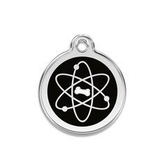 Atomic Bone Small Dog ID Tag