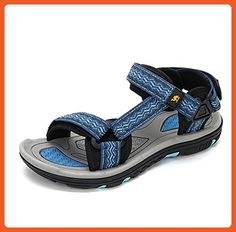 Women's Outdoor Stylish Athletic Sandals Color Green Size 36 M EU