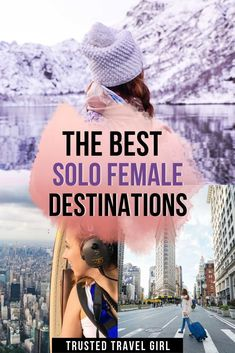 The Best Solo Female Travel Destinations in My favorite places for women to travel alone. Check out this list of destinations around the world to give you tons of inspiration for your solo travel adventure. alone Best Solo Female Travel Destinations Us Travel Destinations, Best Places To Travel, Amazing Destinations, Cool Places To Visit, Adventure Awaits, Adventure Travel, Adventure Quotes, Tips For Traveling Alone, Traveling By Yourself