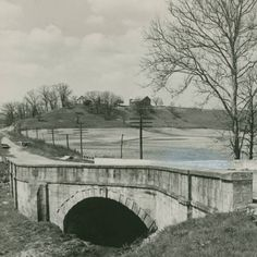 Stone S bridge on National Road photograph :: Ohio Guide Collection