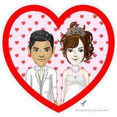Wedding Couple Portrait Maker http://avachara.com/wedding/