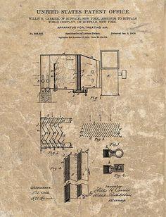 1906 Air Conditioner Patent