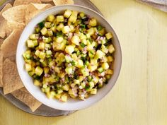 Get Pineapple-Cucumber Salsa Recipe from Food Network - Katie Lee