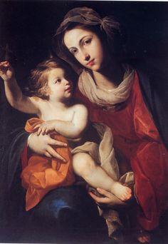 Massimo Stanzione - Madonna and Child
