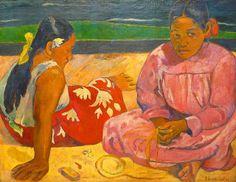 Tahitian Women by Paul Gaugin