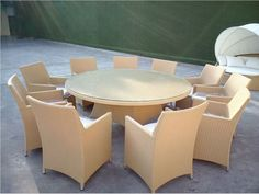 10 seaters cream dining table and chair set SOF1017, View tables and chairs, SHINE Product Details from Shine International    Shine Outdoor Rattan Wicker Ding sets From Shine international Group Limitted market4@shininggroups.com Skype: suzen17278630 What's App : +86 13927710930 www.shininggroups.com