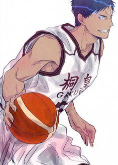 Aomine Daiki - Kuroko no Basuke - Mobile Wallpaper - Zerochan Anime Image Board Kuroko No Basket, Anime Basket, Basketball Drawings, Kuroko's Basketball, Basketball Boyfriend, Basketball Posters, Basketball Birthday, Manga Boy, Manga Anime