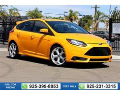 2013 Ford Focus ST  4D Hatchback Call for Price 46319 miles 925-399-8853 Transmission: Manual  #Ford #Focus ST #used #cars #DublinVolkswagen #Dublin #CA #tapcars