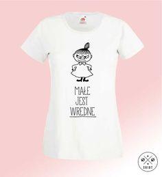 Mała+Mi+-+Wredna,+Damska+koszulka+z+nadrukiem,+w+DDshirt+na+DaWanda.com
