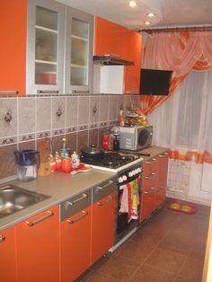 image Simple Kitchen Design, Kitchen Room Design, Home Room Design, Interior Design Kitchen, Kitchen Cabinet Interior, Kitchen Cupboard Designs, Kitchen Decor Themes, Home Decor Kitchen, Cocina Shabby Chic