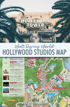 Are you planning a trip to Walt Disney World? Here is your Hollywood Studios Map in Walt Disney World to help plan your family vacation! Disney World Resorts, Disney World Map, Disney Map, Disney World Vacation Planning, Disney Planning, Disney Vacations, Disney Trips, Disney Parks, Disney Worlds