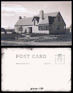 Dr. Bannister Residence, Conrad MT    xxxx  State Archives #0770-139