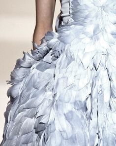 Givenchy haute couture autumn/winter 2007-2008 #texture