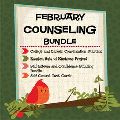 Lots of good stuff for your counseling program!