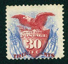 1875 30c Shield, Eagle and Flag - Catalog # 131