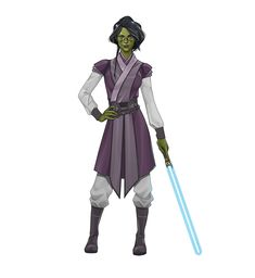 Star Wars Characters Pictures, Star Wars Images, Black Characters, Star Wars Books, Star Wars Rpg, Star Wars Jedi, Star Wars Concept Art, Star Wars Fan Art, Female Jedi
