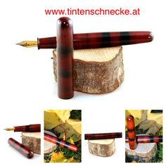 Fountain pen, ink, urushi, lacquer, handmade, Füllfeder, Tinte, Lack, selbstgemacht Convenience Store, Dyes, Homemade, Convinience Store