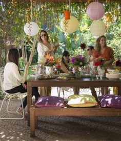 10 maneiras para acomodar os convidados nas festas