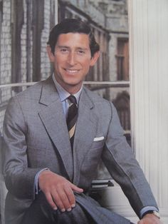 Prince Charles.  This is my favorite picture of the Prince.  Very handsome!