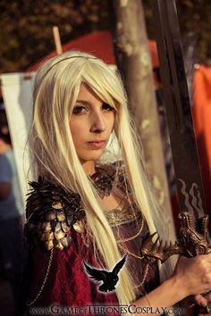 Rhaenys Targaryen by CalamityJade.deviantart.com on @deviantART